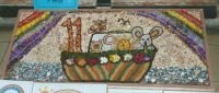St Mary's RC Primary School Well Dressing