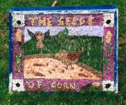 St John's CofE Primary School Well Dressing (3)