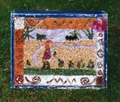 St John's CofE Primary School Well Dressing (4)