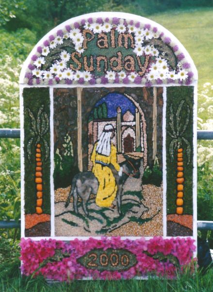 Brackenfield 2000 - Wessington School Well Dressing