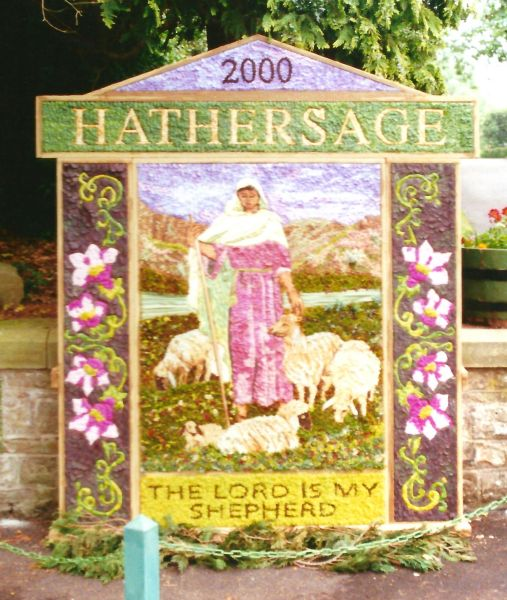 Hathersage 2000 - Methodist Church Well Dressing