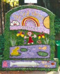 Wirksworth CE Infant School Well Dressing