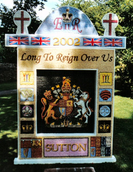 Sutton Lane Ends 2002 - Main Well Dressing