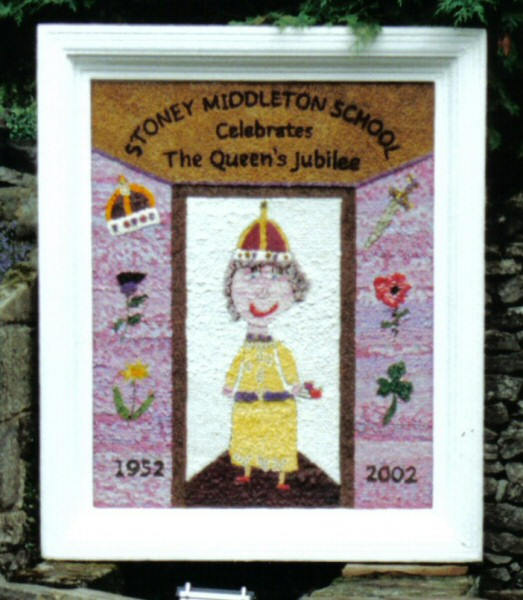 Stoney Middleton 2002 - Children's Well Dressing