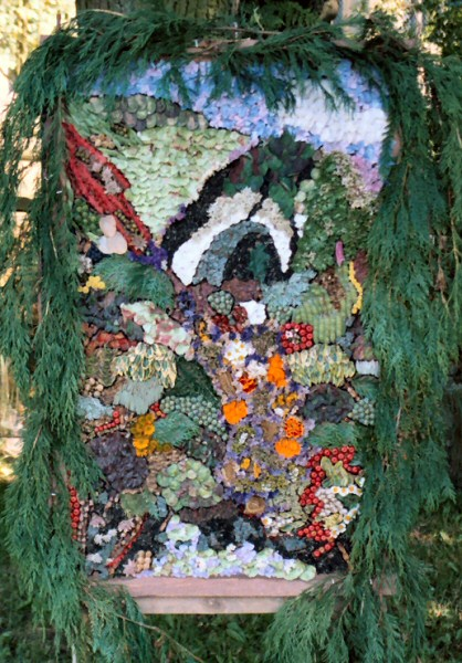 Grindon 2003 - All Saints Church Well Dressing