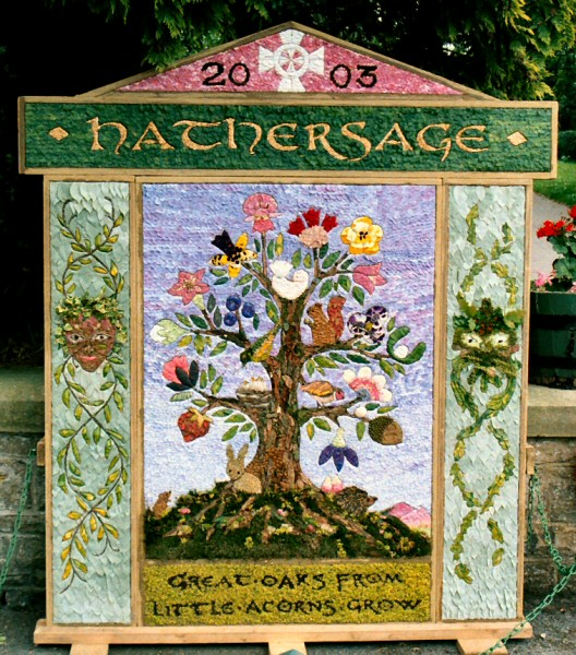 Hathersage 2003 - Methodist Church Well Dressing