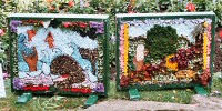 St John's C of E Primary School Well Dressing (2 - 3)