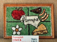 Sunnyhill Infant & Nursery School Years 1 & 2 Well Dressing (2)