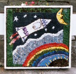 St John's Junior School Well Dressing
