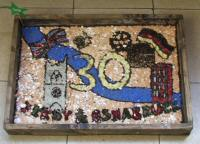 St Werburgh's Primary School Years 3 & 4 Well Dressing
