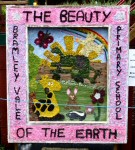 Bramley Vale Primary School Well Dressing