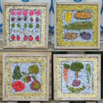 Composite image of four small Summer Well Dressings