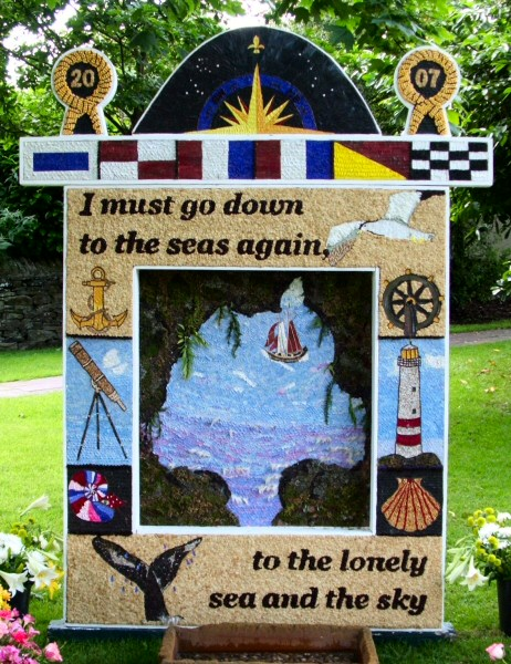 Sutton Lane Ends 2007 - Main Well Dressing