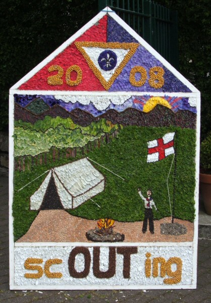 Swanwick 2008 - Scouts Well Dressing