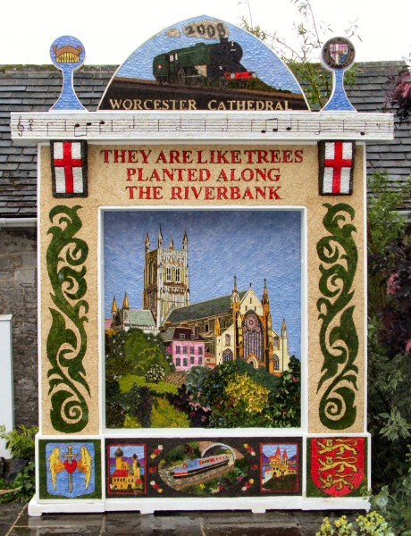 Tideswell 2008 - Village Well Dressing