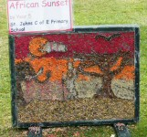 St John's CE Primary School Well Dressing (4)
