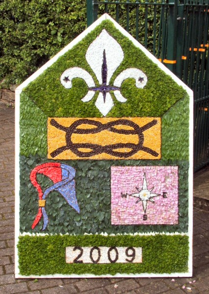 Swanwick 2009 - Scouts Well Dressing
