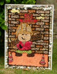 Mickle Trafford Village School Well Dressing