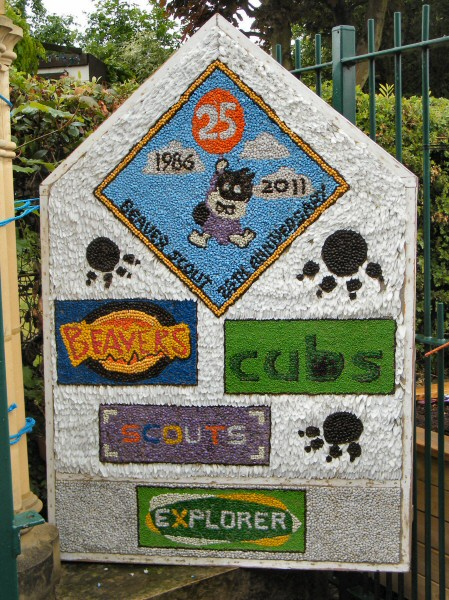 Swanwick 2011 - Scouts Well Dressing