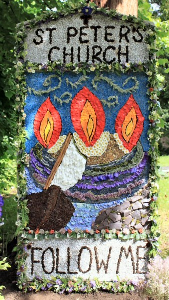 Chellaston 2012 - St Peter's Church Well Dressing
