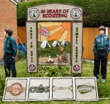 Beavers, Cubs, Scouts & Explorers Well Dressing