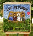 Disley Women's Institute Well Dressing