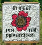 Disley Primary School Well Dressing