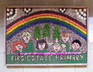 Firs Estate Primary School Well Dressing
