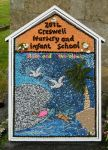 Creswell Nursery & Infant School Well Dressing