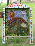 Langwith Bassett School Well Dressing