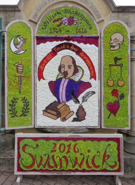 Swanwick 2016 - Main Well Dressing