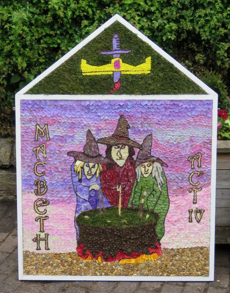Swanwick 2016 - Women's Institute Well Dressing