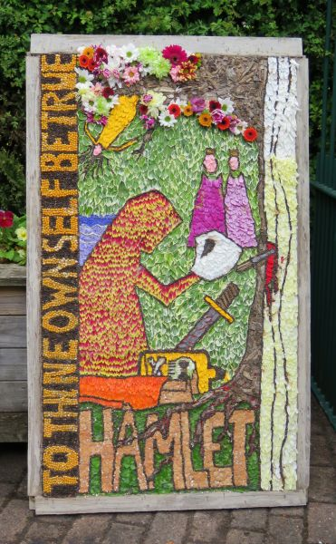 Swanwick 2016 - Swanwick Hall School Well Dressing