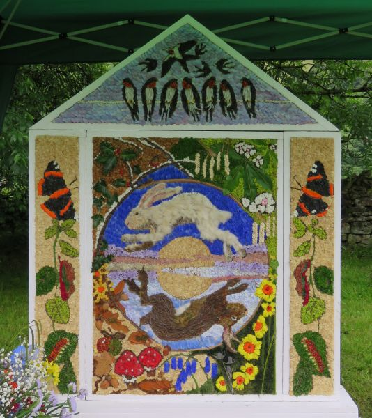 Hayfield 2016 - Little Hayfield Well Dressing