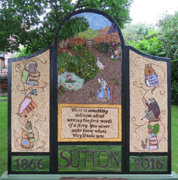 Sutton Lane Ends 2016 - The Pleasance Well Dressing