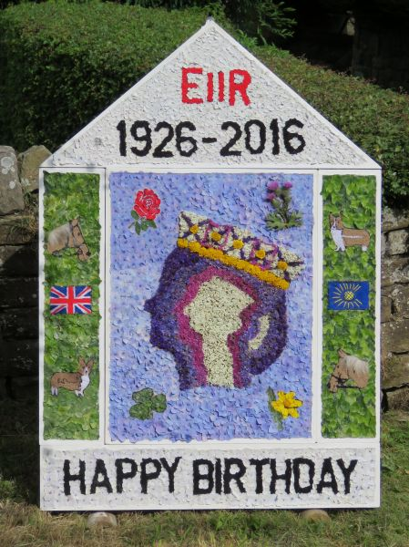 Wingerworth 2016 - Sheepwash Well Dressing (1)