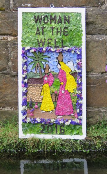 Wingerworth 2016 - Stubbing Well Dressing