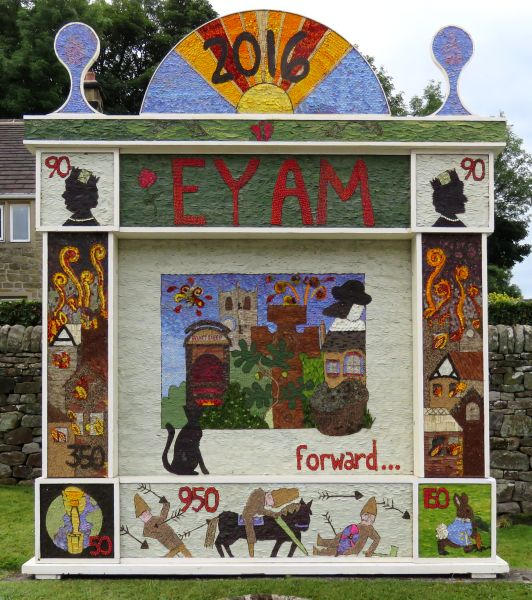 Eyam 2016 - Town End Well Dressing