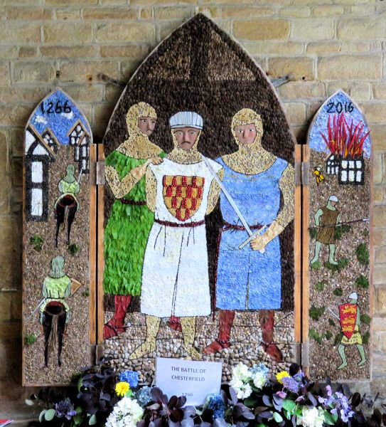 Chesterfield 2016 - St Mary and All Saints Church Well Dressing