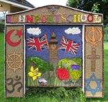 John Port School Well Dressing