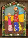 Carsington & Hopton School Well Dressing