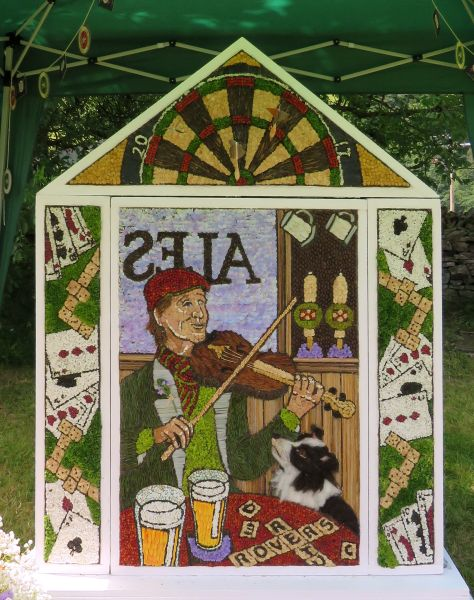 Hayfield 2017 - Little Hayfield Well Dressing