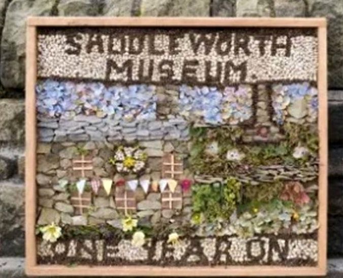 Uppermill 2017 - Saddleworth Museum Well Dressing
