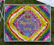 1st Quarndon Brownies Well Dressing