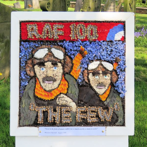 Newborough 2018 - Memorial Well Dressing (2)