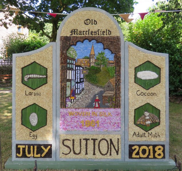 Sutton Lane Ends 2018 - The Pleasance Well Dressing