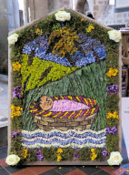 Carsington & Hopton Primary School Well Dressing