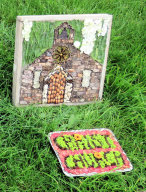 Moor First School Well Dressing (2)