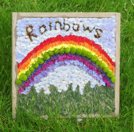 Rainbows & Guides Well Dressing
