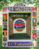 Scout Group Well Dressing